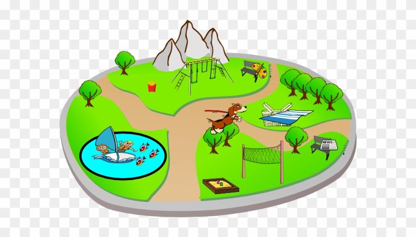 Park Clip Art Free Clipart Images - Clipart Of A Park #13515