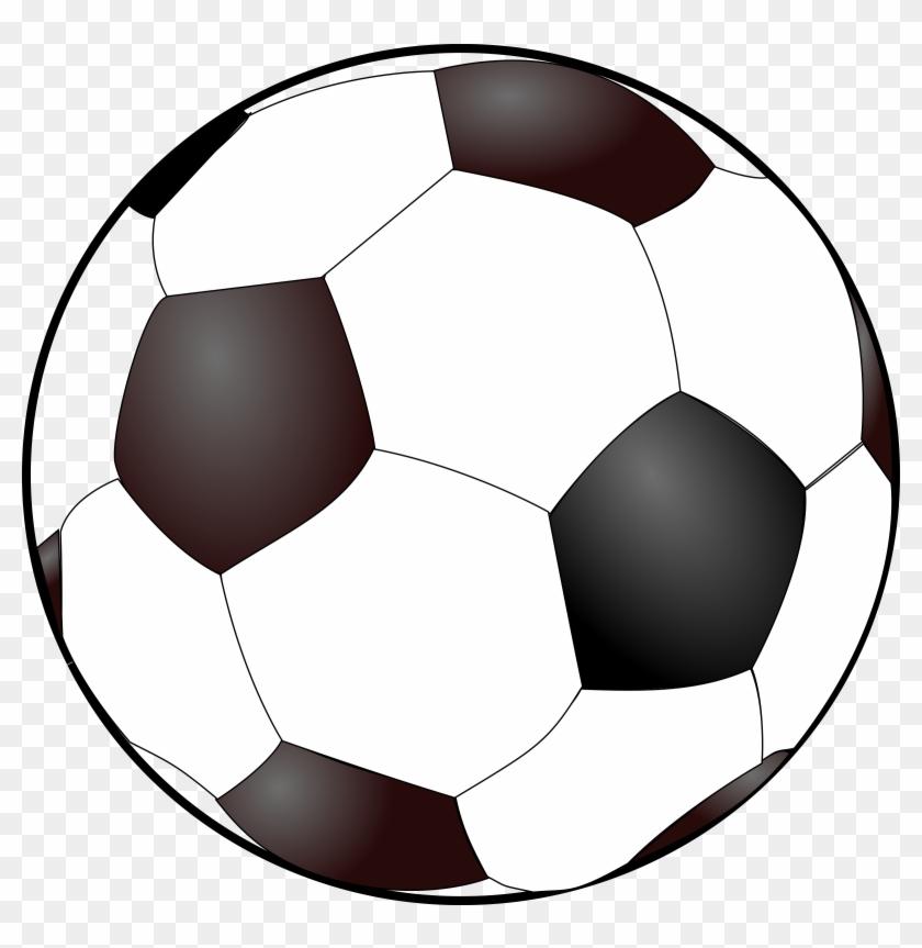 Big Image - Soccer Ball Free Clip Art #13543