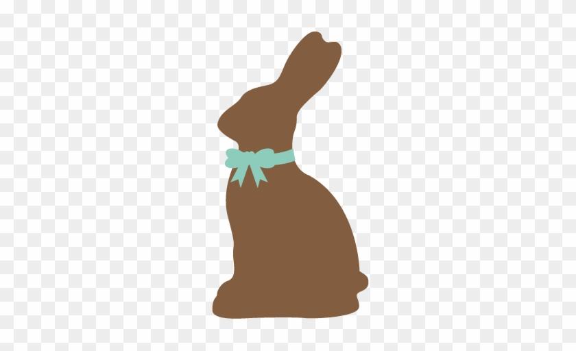 Silhouette Clipart Easter Bunny - Easter Bunny Silhouette Png #13547