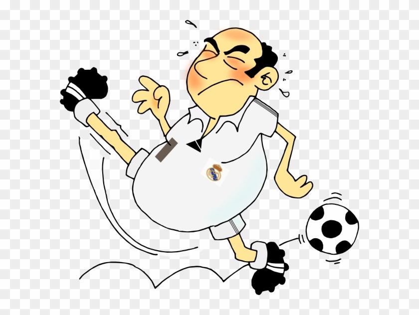Soccer Player Clip Art At Clker - Lustiger Fußball-vati Karte #13568