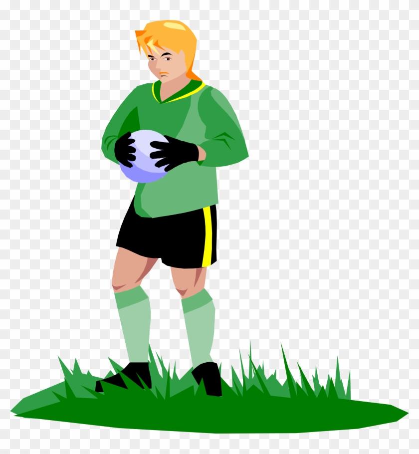 Big Image - Soccer Goalie Clipart #13575