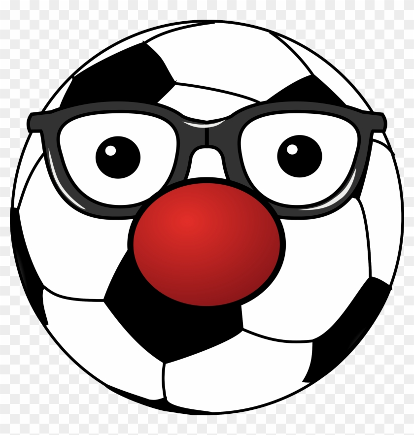 Clipart Of A Soccer Ball - Funny Soccer Ball Clipart #13588