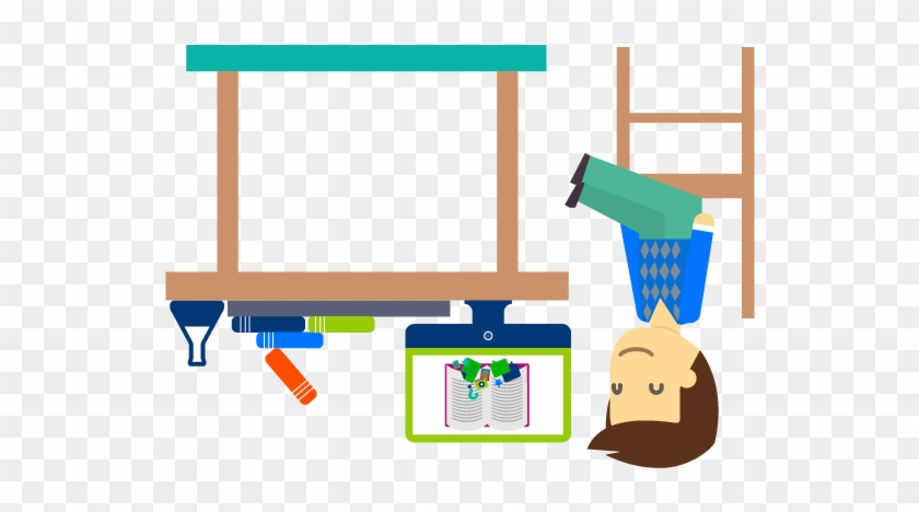 Flipped Classroom Cliparts - Flipped Classroom Clipart #13616