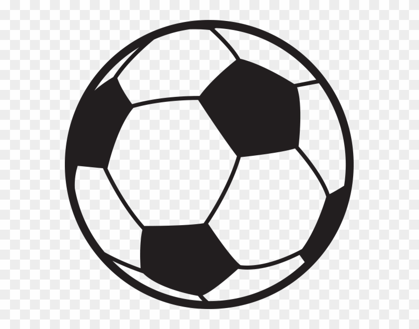 Incredible Inspiration Soccer Ball Outline Free Download - Soccer Ball Png #13643