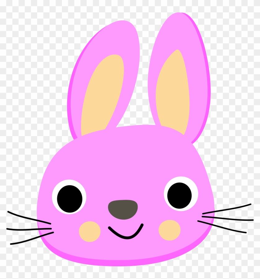 Clipart Lapin - Rabbit Face Clip Art #13665