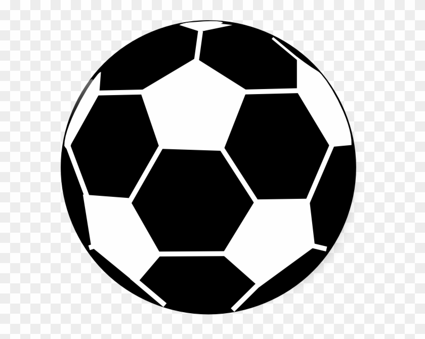 Football Black And White Football Clipart Black And - Football Black & White #13688