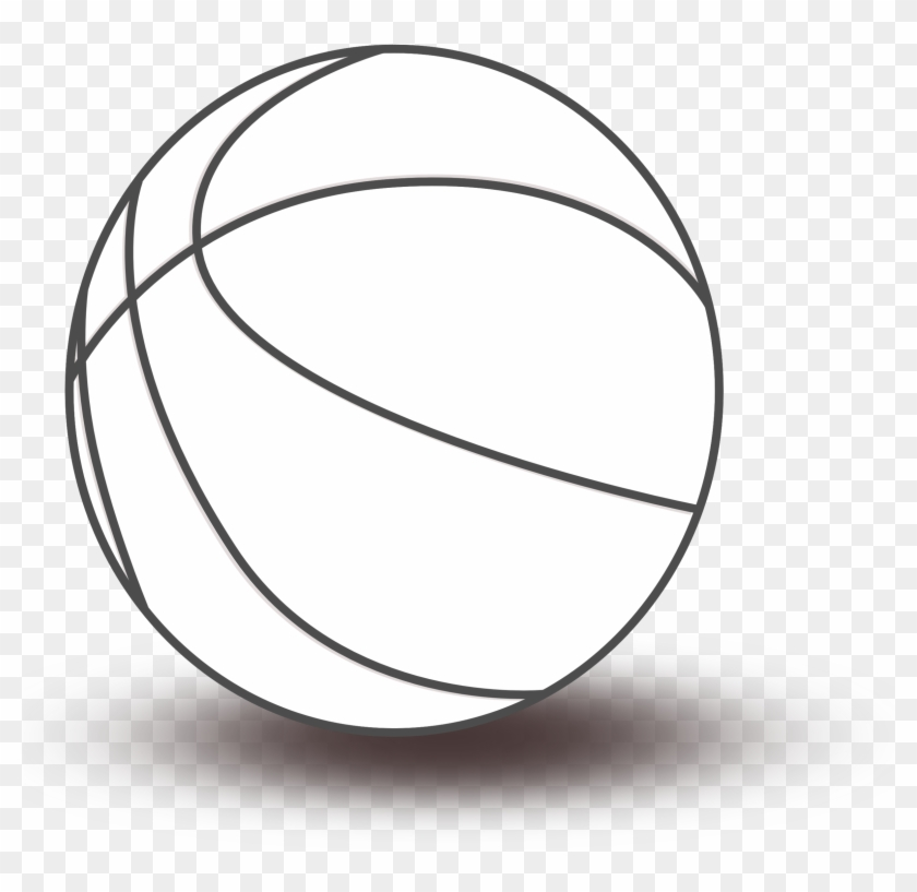 Basketball Black And White Black And White Basketball - Clipart Toys Black And White #13691