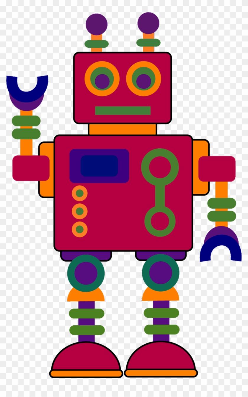 Collage - Robots Clip Art #13703
