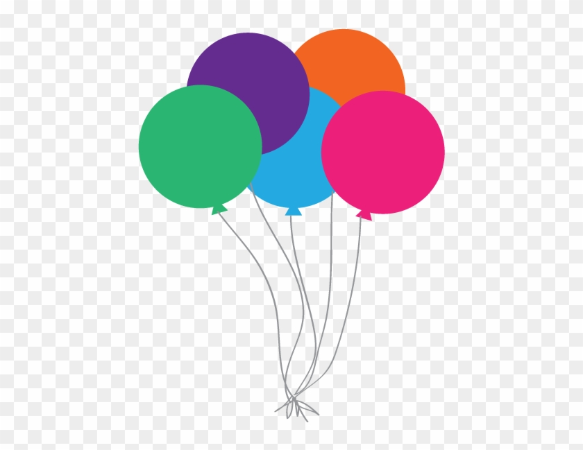 Happy Birthday Balloons Clip Art - Birthday Clipart #13705