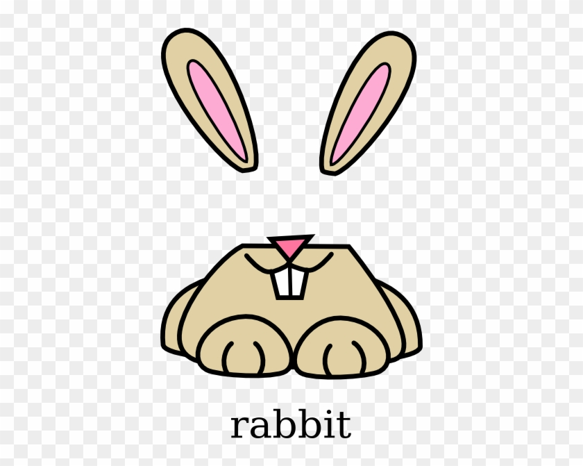Rabbit Clip Art Clipart Cliparts For You - Cartoon Rabbit Mouth #13723