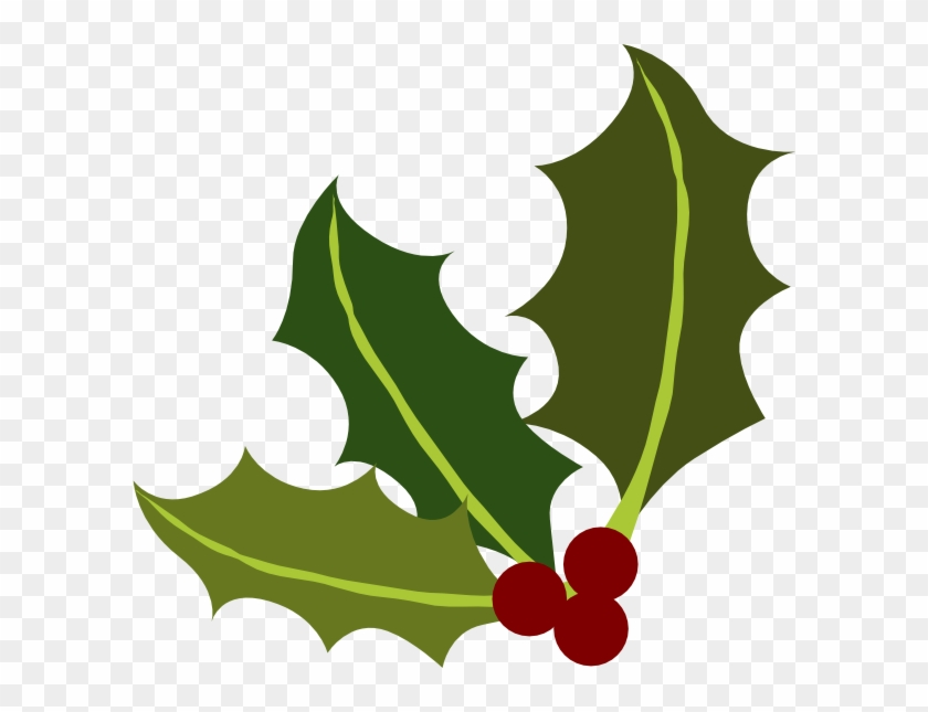 Holly Leaves Clipart #13732