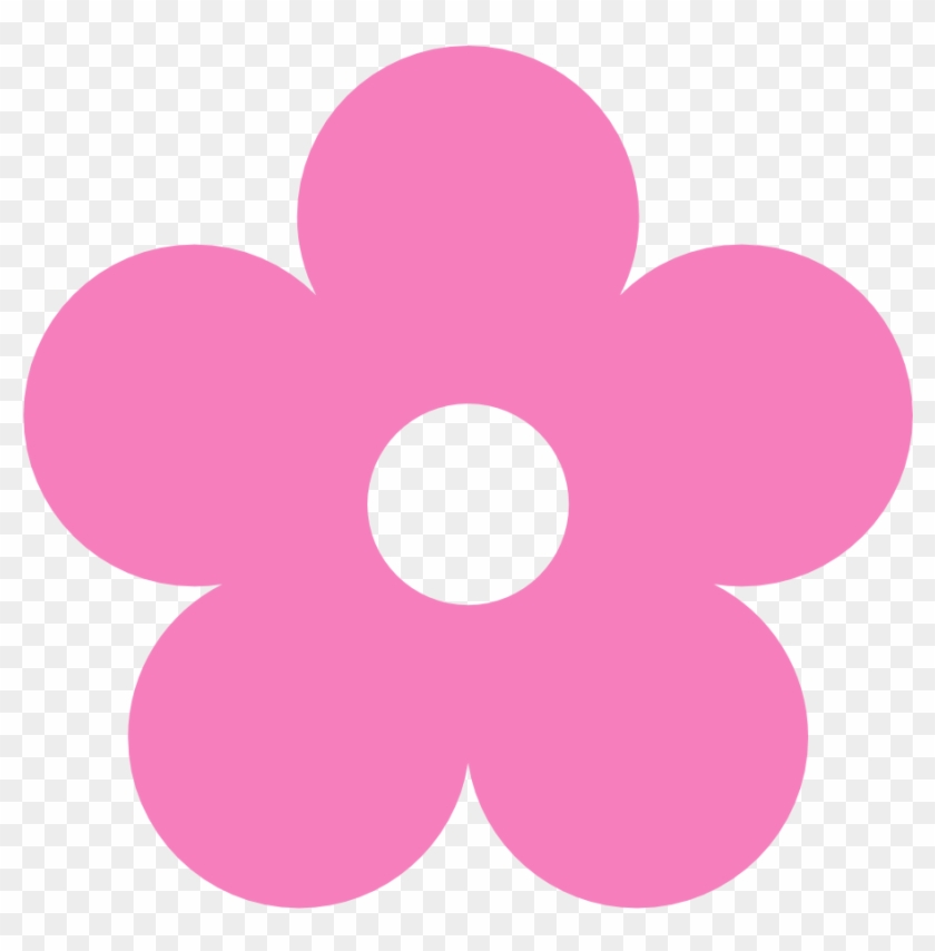 Barbie Clipart Flower - Flower Clipart Color #13746