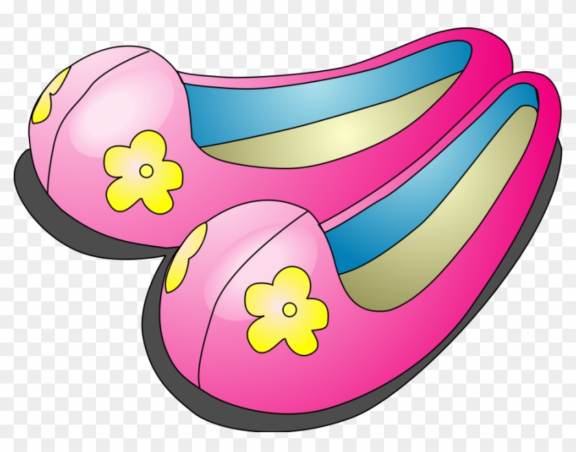 Kasut Clipart - Cute Shoes Clipart #13752
