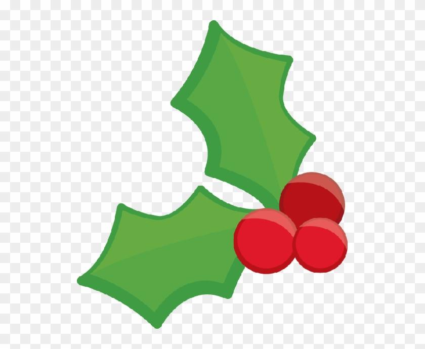 Christmas Holly Clip Art - Natal Minus Png #13756
