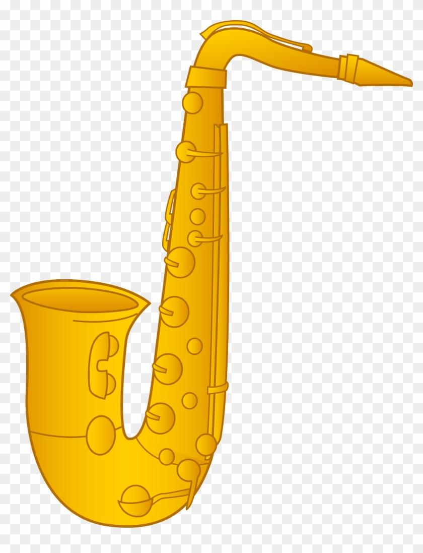 Saxophone Clip Art Pictures - Saxophone Clipart #13817