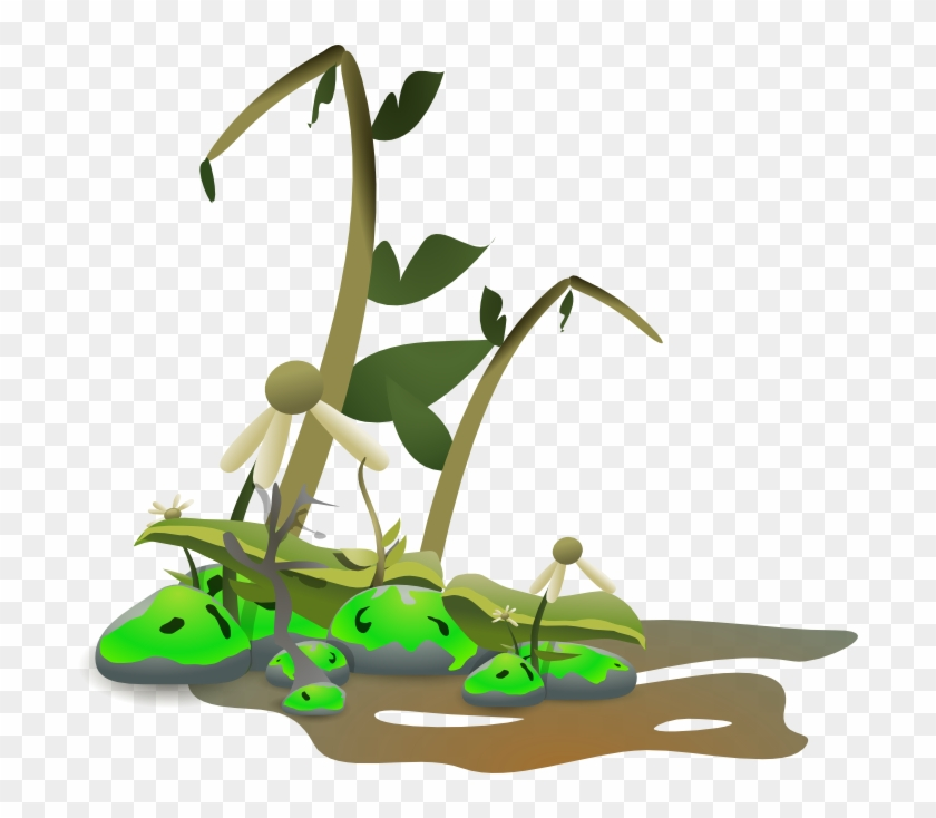 Distopia - Dying Plant Clipart #13816