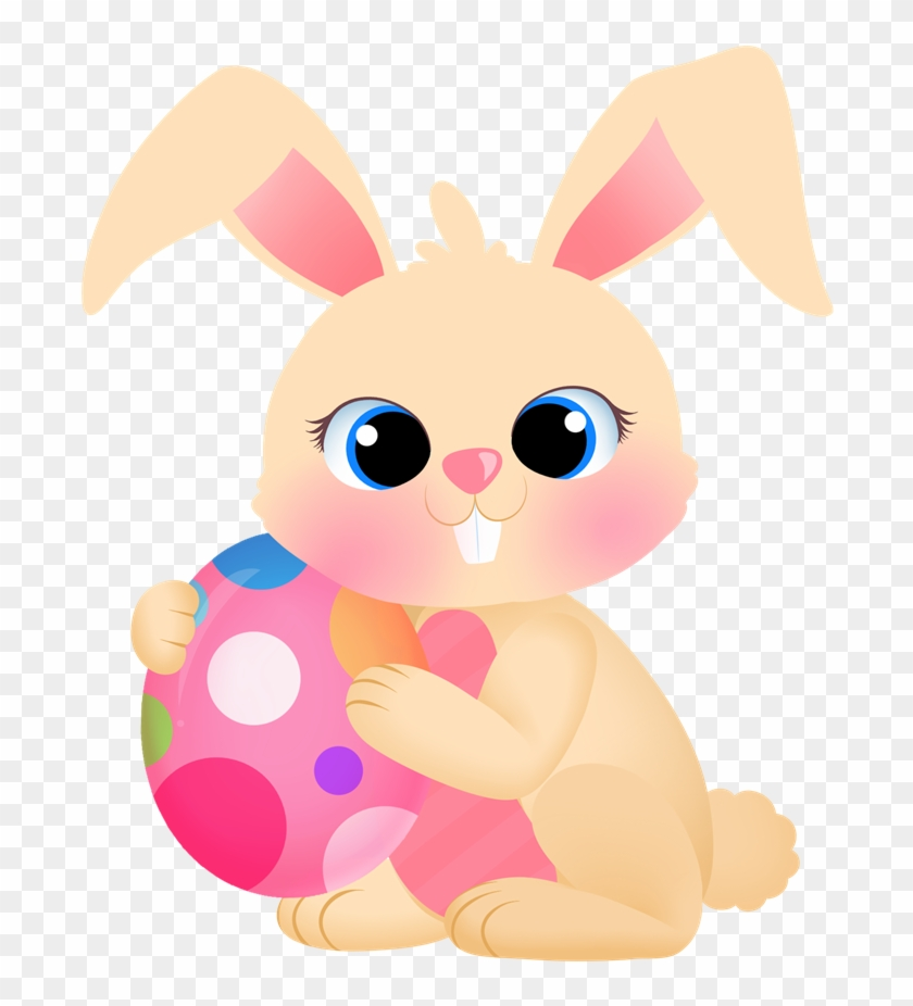 Free To Use Amp Public Domain Bunny Clip Art - Easter Bunny Oval Ornament #13839