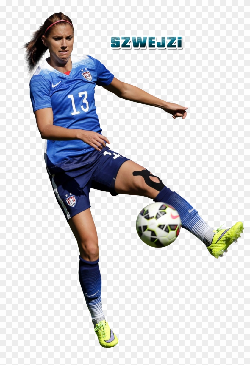 Alex Morgan By Szwejzi Alex Morgan By Szwejzi - Alex Morgan Clip Art #13843