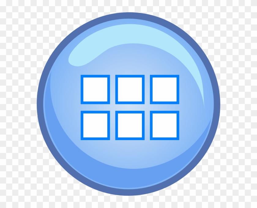 Button Menu Computer Icons Clip Art - Button Menu Computer Icons Clip Art #13860