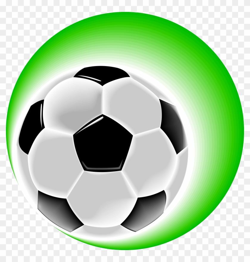 Soccer Ball Clip Art - Soccer Ball And Cleats #13924