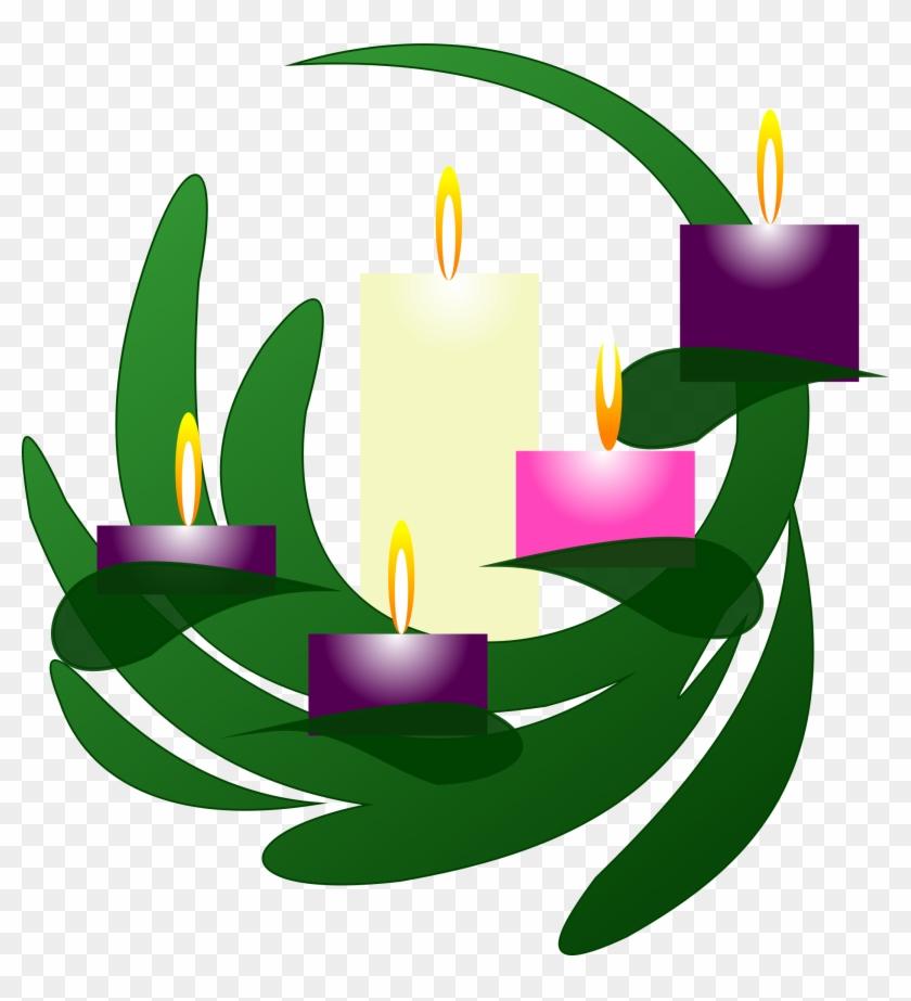 Clipart Advent Wreath Christmas Eve - Third Sunday Of Advent Clipart #13965