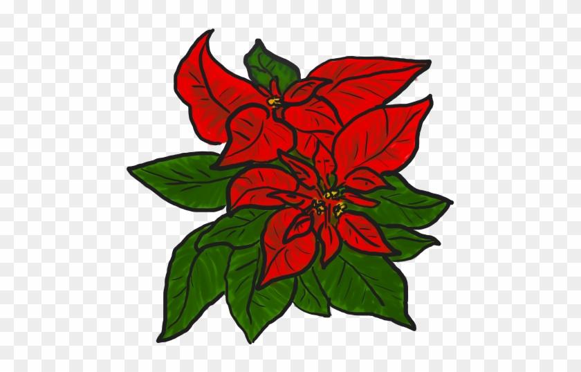 Free Poinsettia Clip Art - Poinsettia Free Clipart #13998