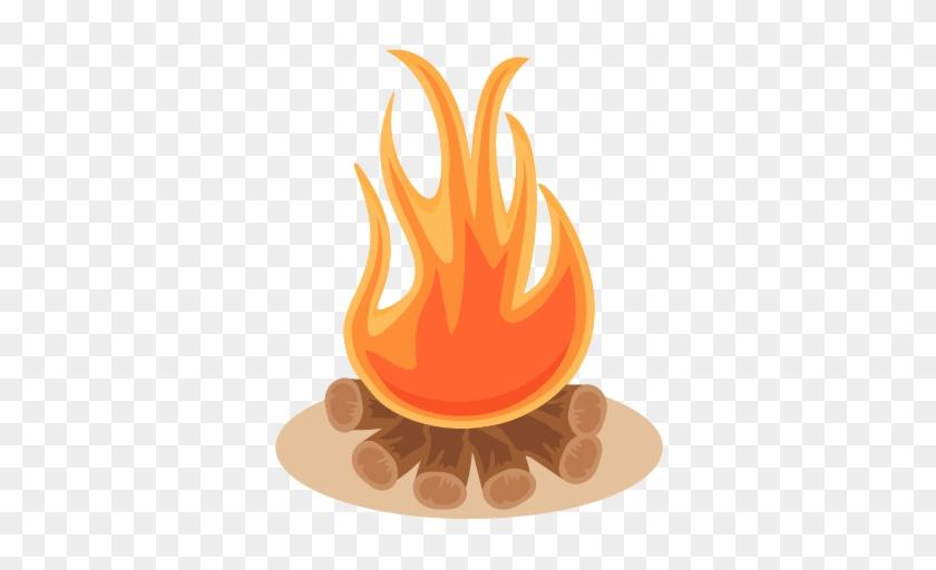 Campfire Svg Scrapbook Cut File Cute Clipart Files - Clip Art #14010