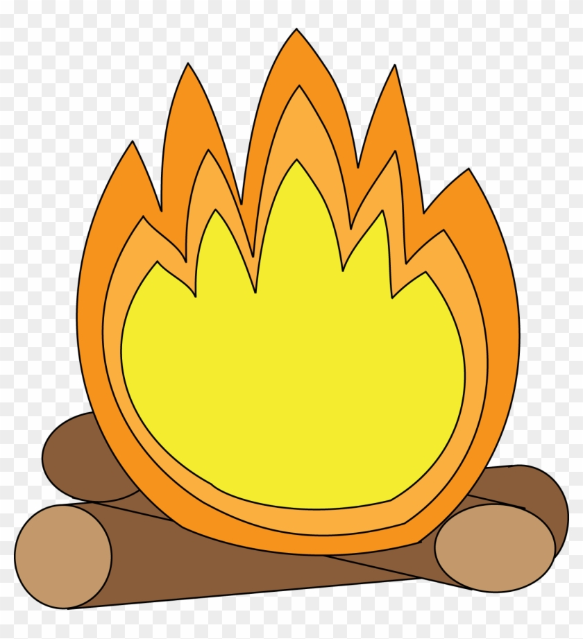 Campfire Camp Fire Smores Clip Art Free Clipart Images - Camp Fire Cartoon #14012