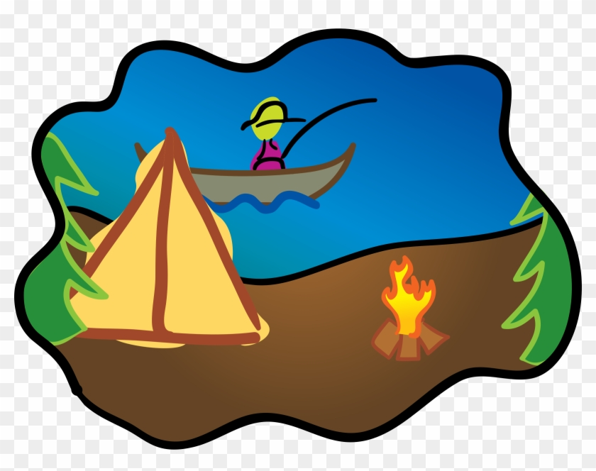Fse Middle School News - Fishing And Camping Clipart #14020