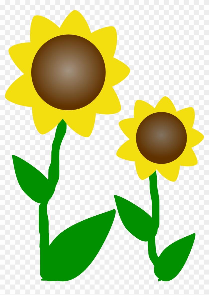 Sunflower Clip Art Clipart - Sunflowers Clip Art #14056
