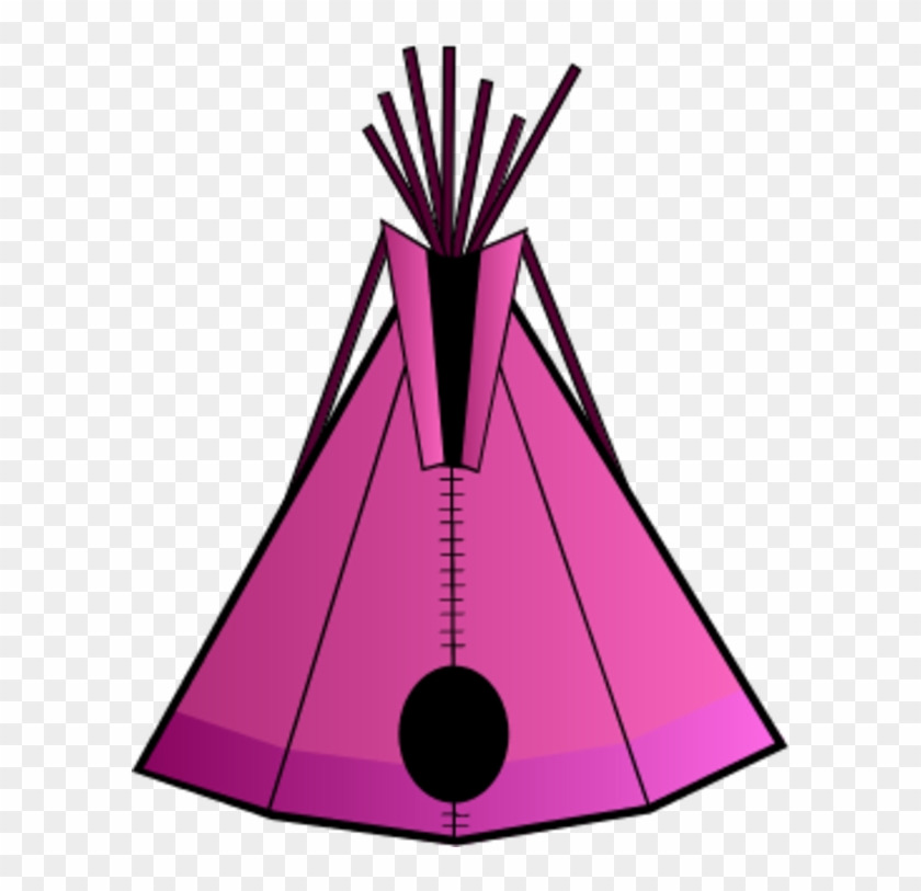 Tent Clip Art Images Free Clipart 4 - Native American Teepee Clipart #14057