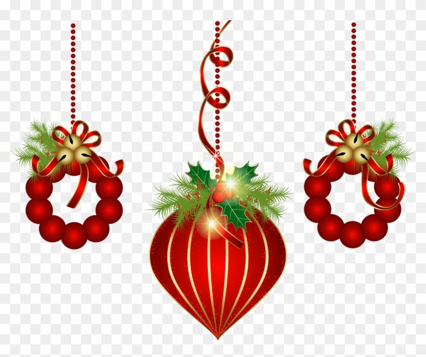 Christmas ~ Christmas Decorations Cliparts Free Download - Christmas Decorations Clipart Transparent Background #14061