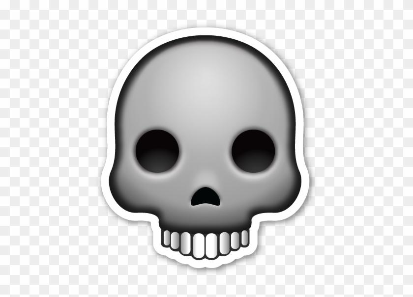 Skull Clipart Emoji - Skull Png Emoji #14078