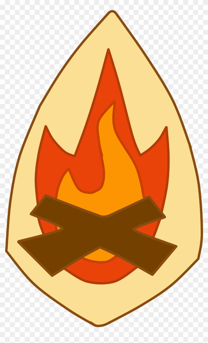Campfire Clipart Fireside Pencil And In Color Campfire - Phineas And Ferb Fireside Girls #14148