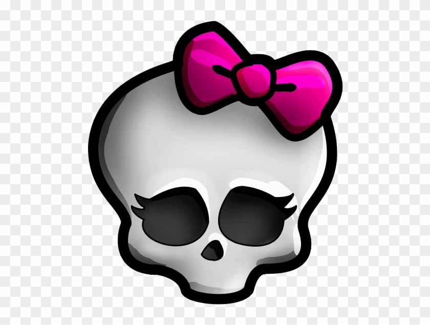 Skull Clipart Monster High - Monster High Skull Png #14130
