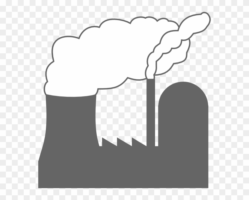 Power Plant Clip Art At Clker - Power Plant Clipart Png #14138