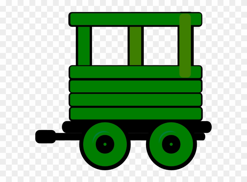 Toot Toot Train Carriage 6 Clip Art At Clker - Cartoon Train With Carriages #14141