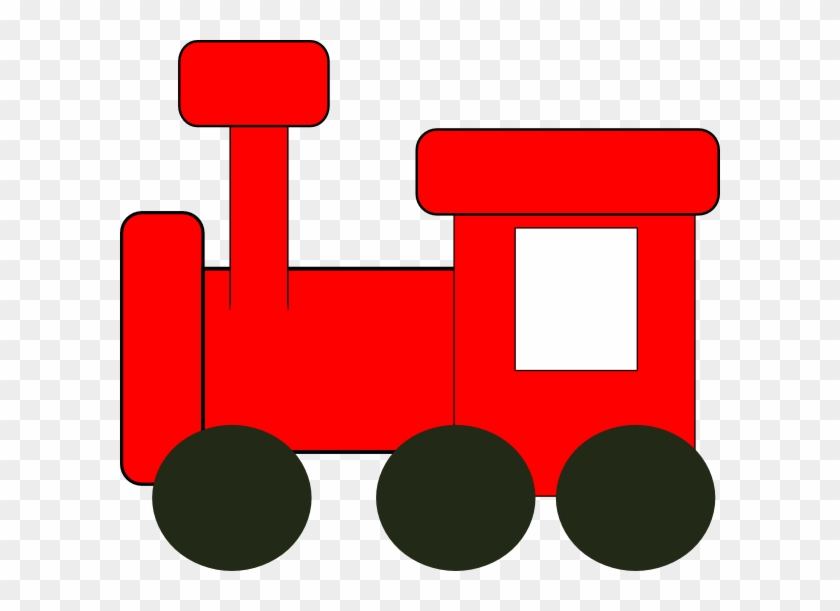Red Train Clip Art - Front Car Of A Train #14145