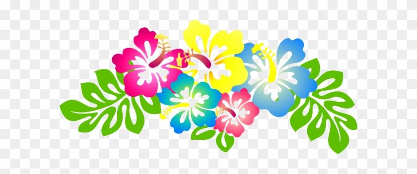 Hawaiian Flowers Clip Art Hibiscus Flower Clip Art - Hibiscus Clipart #14160