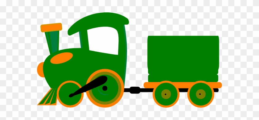 Green Train Clipart #14167