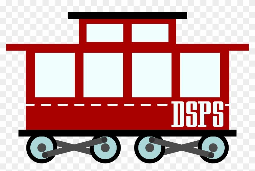 Wagon Train Clipart Clip Art Of Train Clipart - Train Vector Png #14171