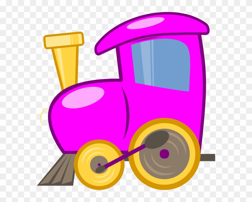 Loco Train Clip Art At Clker - Train Cartoon Colorful Clip Art #14175