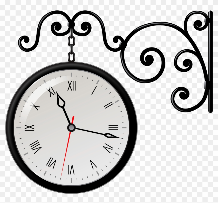 Clock Clipart Black And White Free Images - Different Types Of Clocks #14194