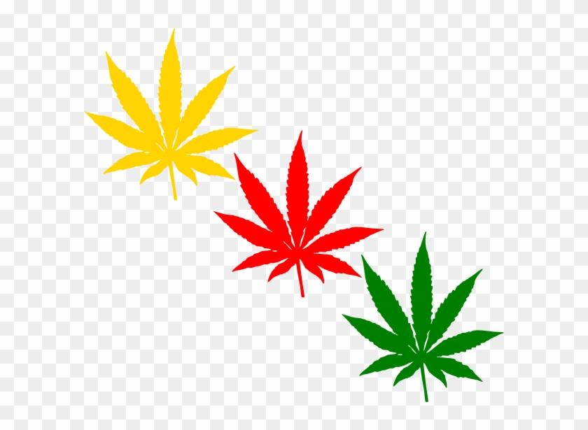 Weed Clip Art At Clker Com Vector Clip Art Online Royalty - Marijuana Leaf #14193