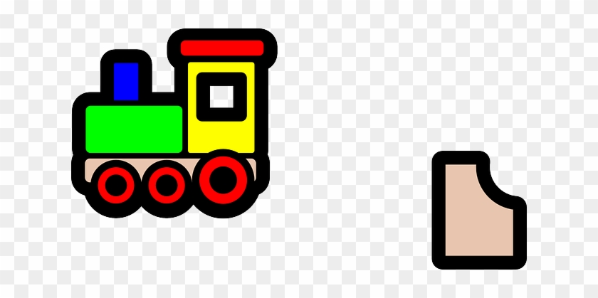 Toy Train Icon Clip Art At Clker - Toy Train Clip Art #14204