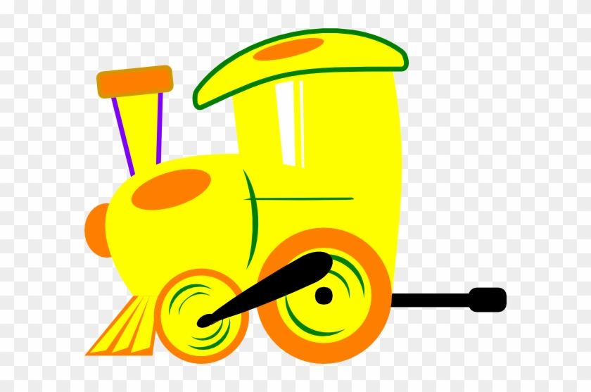 Yellow Train Cliparts - Clip Art Yellow Train #14210