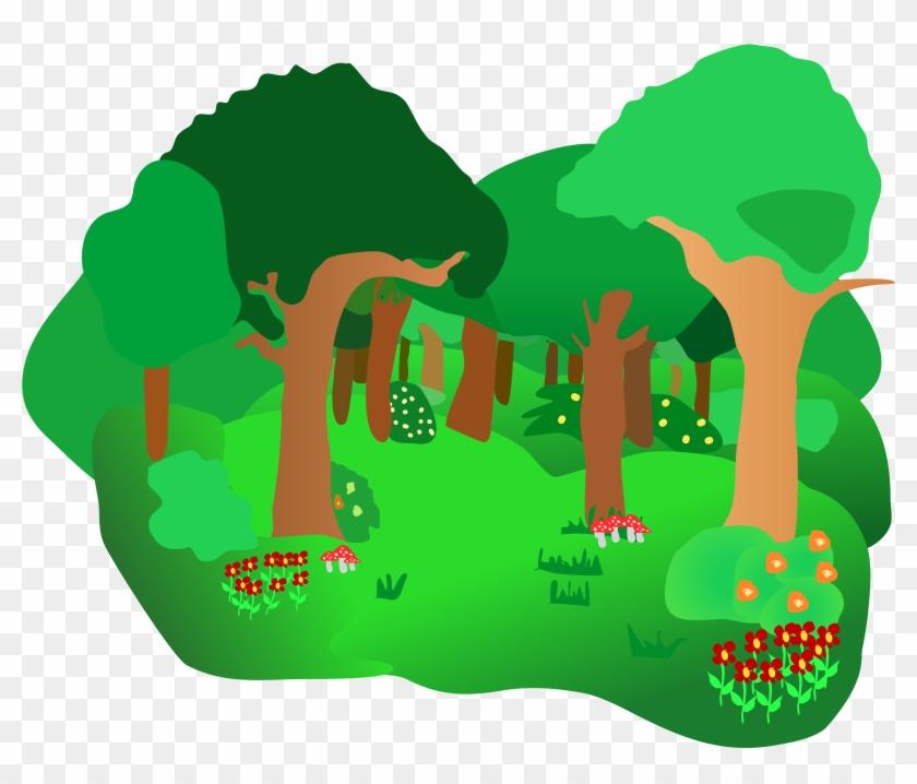 Forest Clip Art - Forest Clip Art #14249