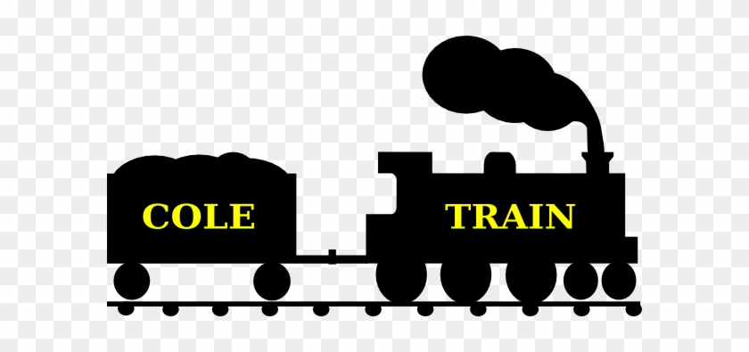 Cole Train Silhouette Clip Art At Clker - Clip Art #14228