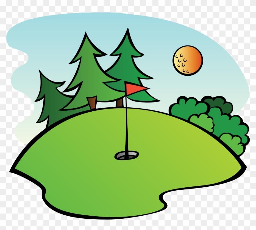Redneck - Golf Clip Art #14234