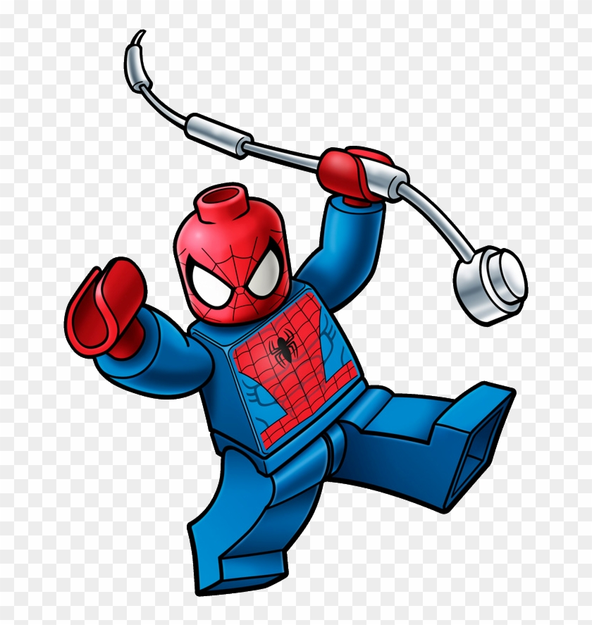 Spiderman Clipart Pictures Free - Spiderman Lego Png #14242